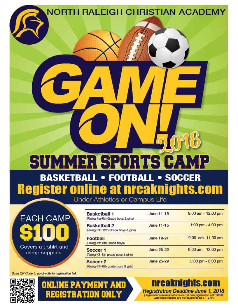 13c1d35c0 Summer Sport Camps Registration – North Raleigh Christian Academy